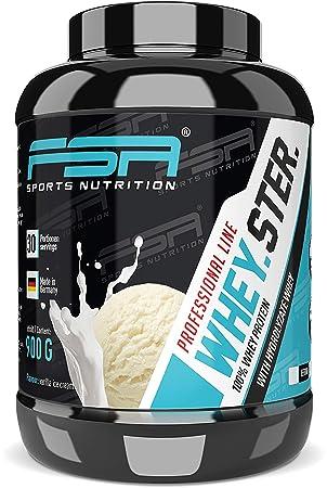 abb6b75ed Whey protein powder from the German pro sport brand FSA Nutrition ...