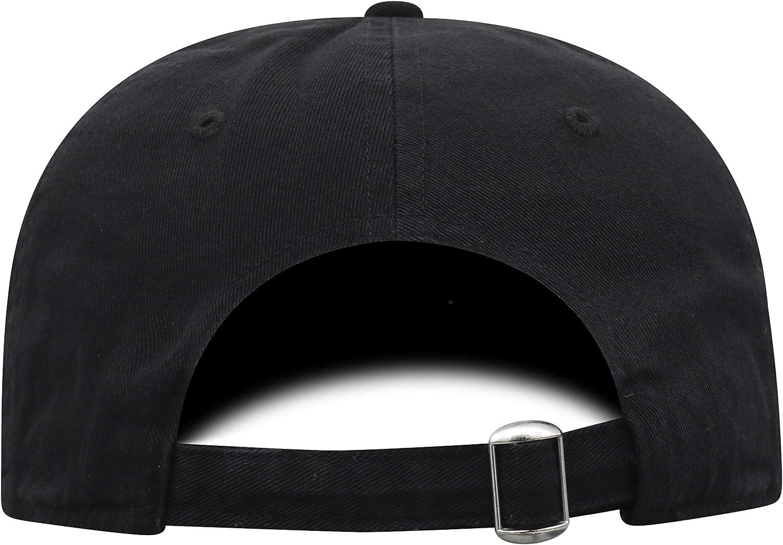 Black NCAA Alabama Crimson Tide Mens Elite Fan Shop Adjustable Vintage Black Hat