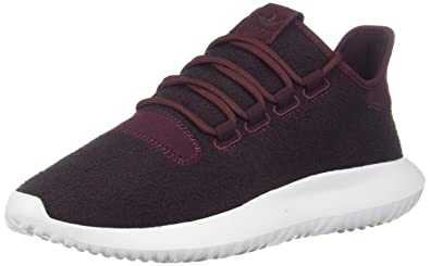 adidas Originals Men's Tubular Shadow MaroonVapour GreyWhite 7.5 D US