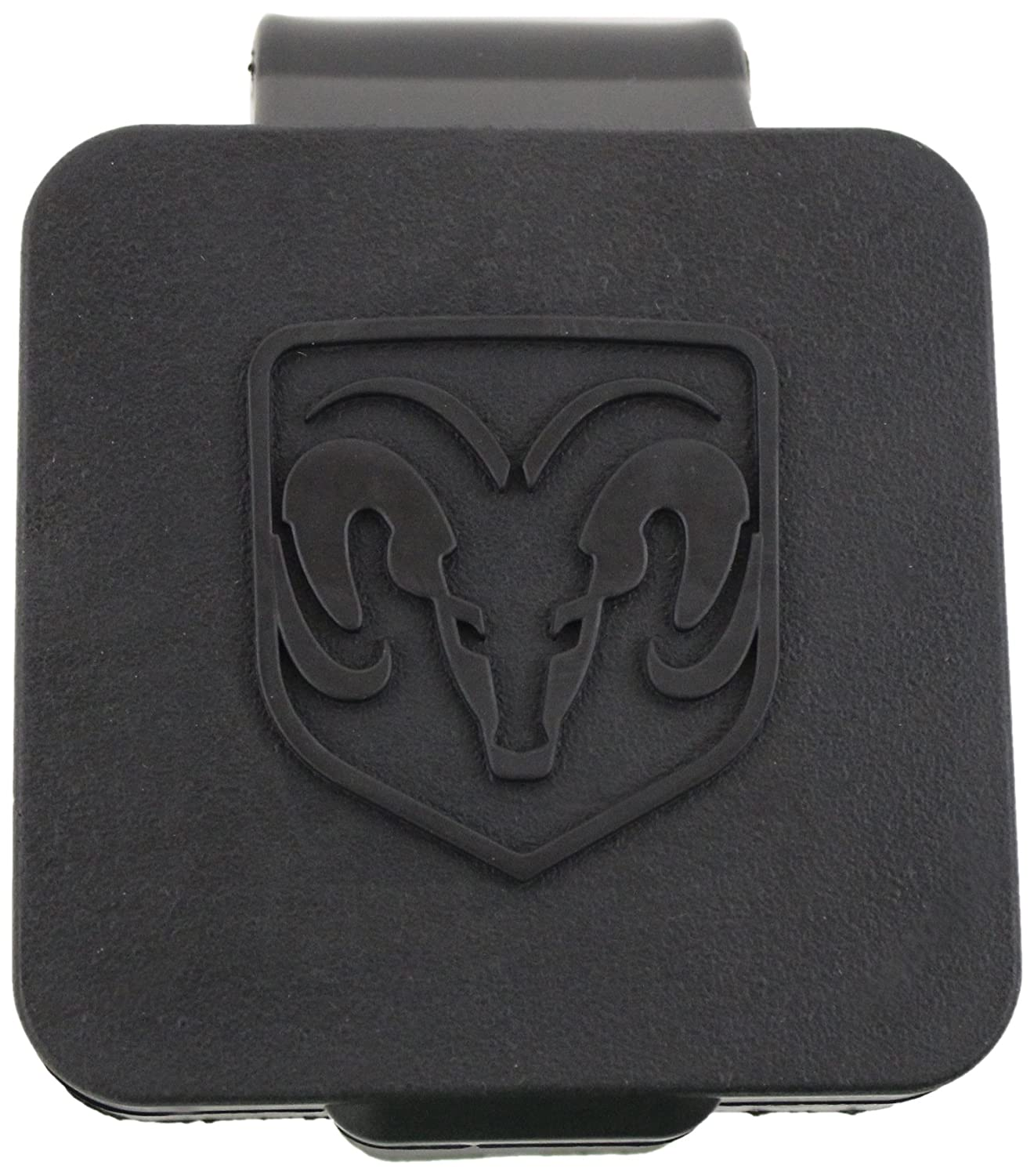 Genuine Dodge RAM Accessories 82208454AB Hitch Receiver Plug with RAM's Head Logo