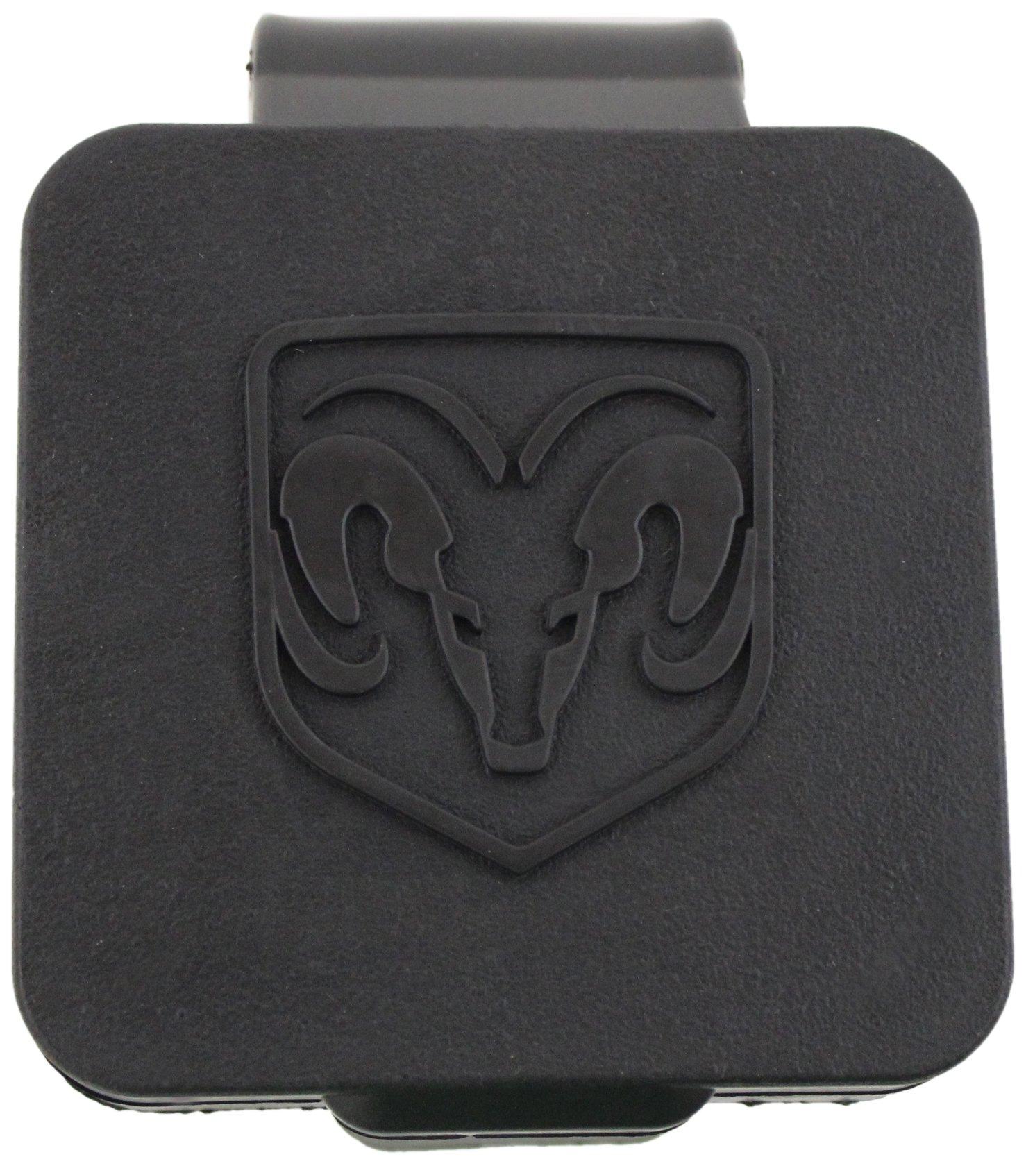 Genuine Dodge RAM Accessories 82208454AB Hitch Receiver Plug with RAM's Head Logo by Genuine Dodge