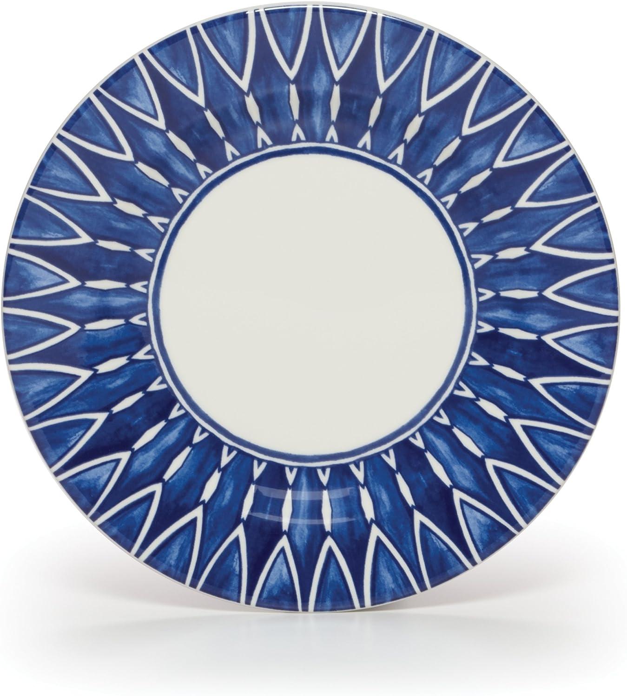 Mikasa Siena Salad Plate, Blue , 8.5-Inch -