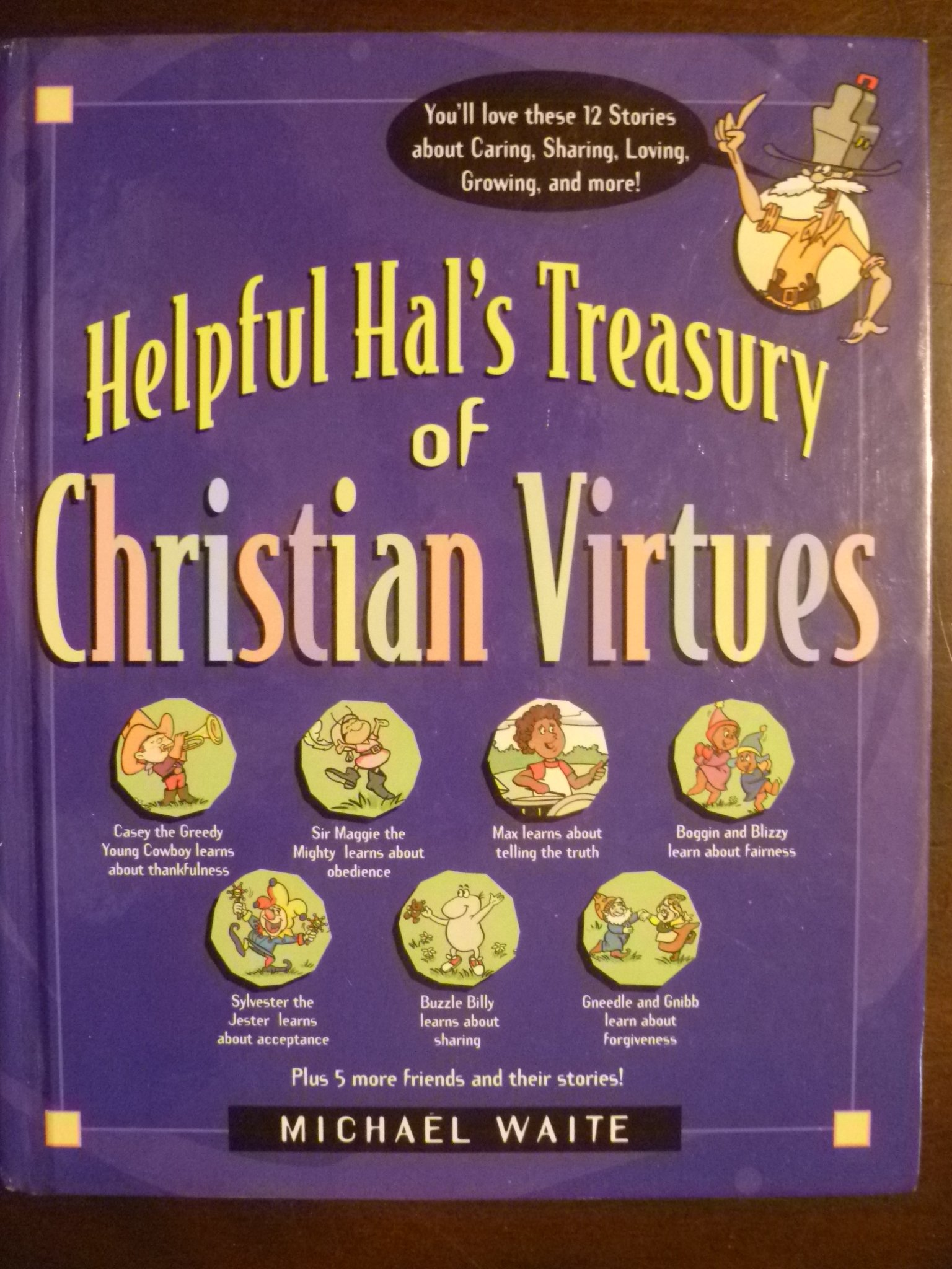 Helpful Hal's Treasury of Christian Virtues (Building Christian Character Series) by Brand: Chariot Victor Pub (Image #1)