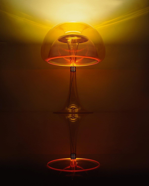 QisDesign JF11/_D Aurelia Table Lamp Orange K215 Living
