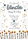 Special Uncle Birthday Greeting Card Second Nature Just To Say Cards