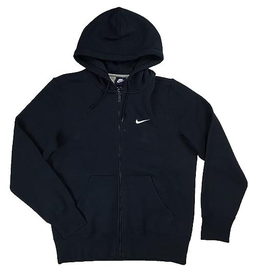 e47a8d8ee Amazon.com: NIKE Mens Classic Full Zip Swoosh Hoodie Shirt (X-Large, Navy):  Sports & Outdoors