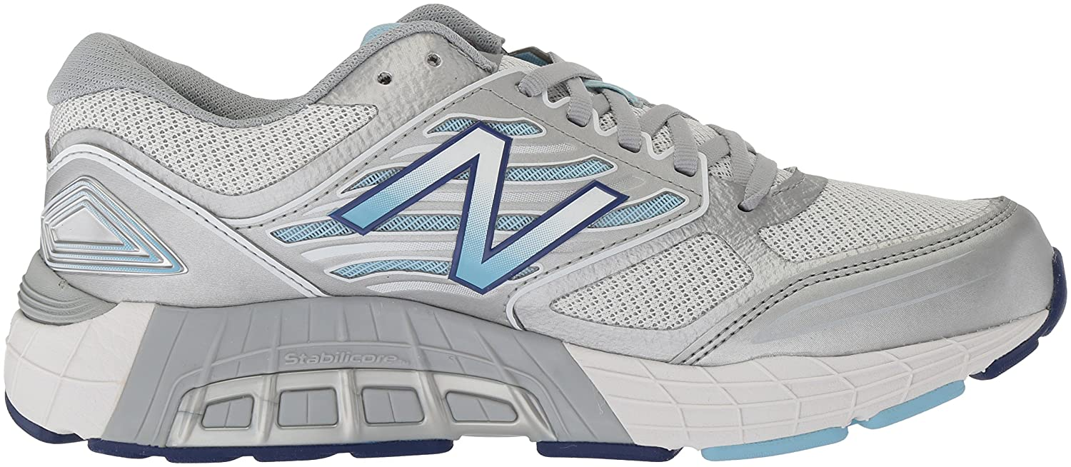 New Balance Women's 1340v3 Running Shoe B01MXNYUMK 6 D US|White/Purple