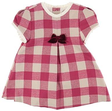 modisches und attraktives Paket niedrigerer Preis mit Brandneu Mayoral Festliches Mädchen Baby-Kleid, rot-altweiß kariert ...