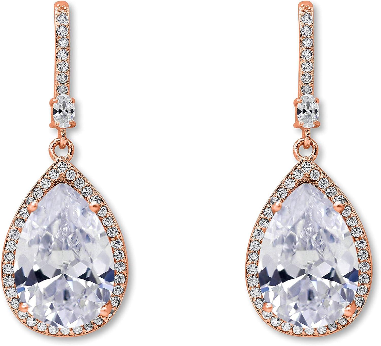 Bridal Jewelry Gold Tear Drop Earrings Unique Stud Earrings Filigree Earrings Bridal Tear Drop Earrings Unique Women/'s Mother Gift