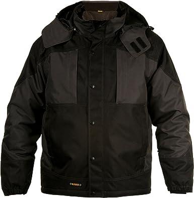 DeWALT Mens Winter Warm Water-Resistant Lined Hooded Work Jacket