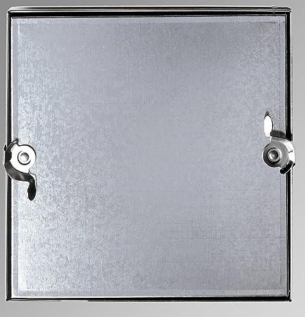 8u0026quot; X 8u0026quot; Galvanized Sheet Metal HVAC Access Door For Furnace Coil  ...