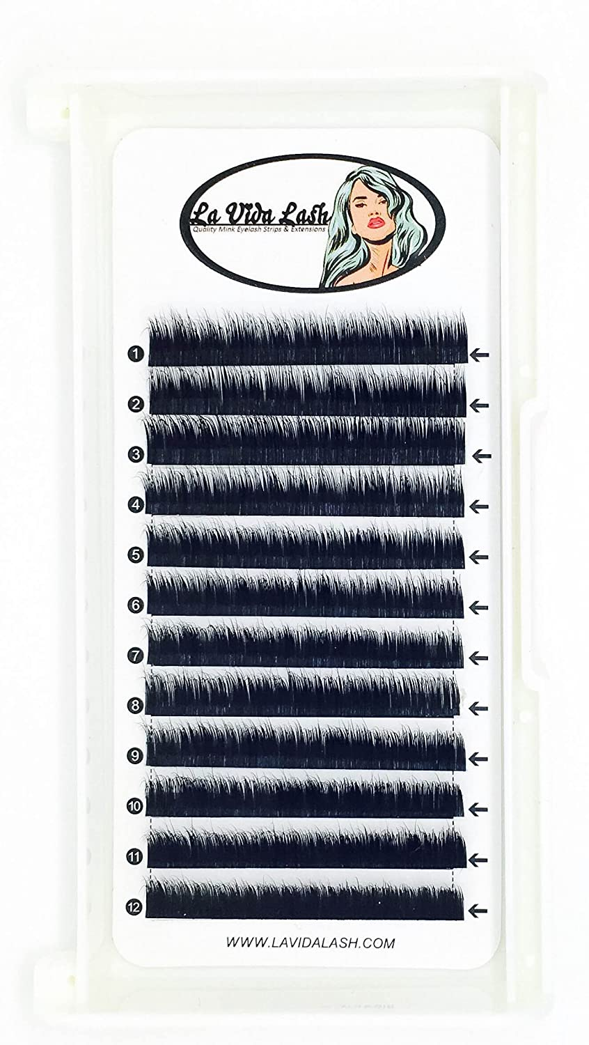 Amazon Eyelash Extensions Mink L Curl 025 For A Deeper Curl