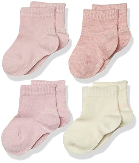 Oliver Socks Baby Fashion 4p, Calcetines para Bebés, Rosa (Rosé 12