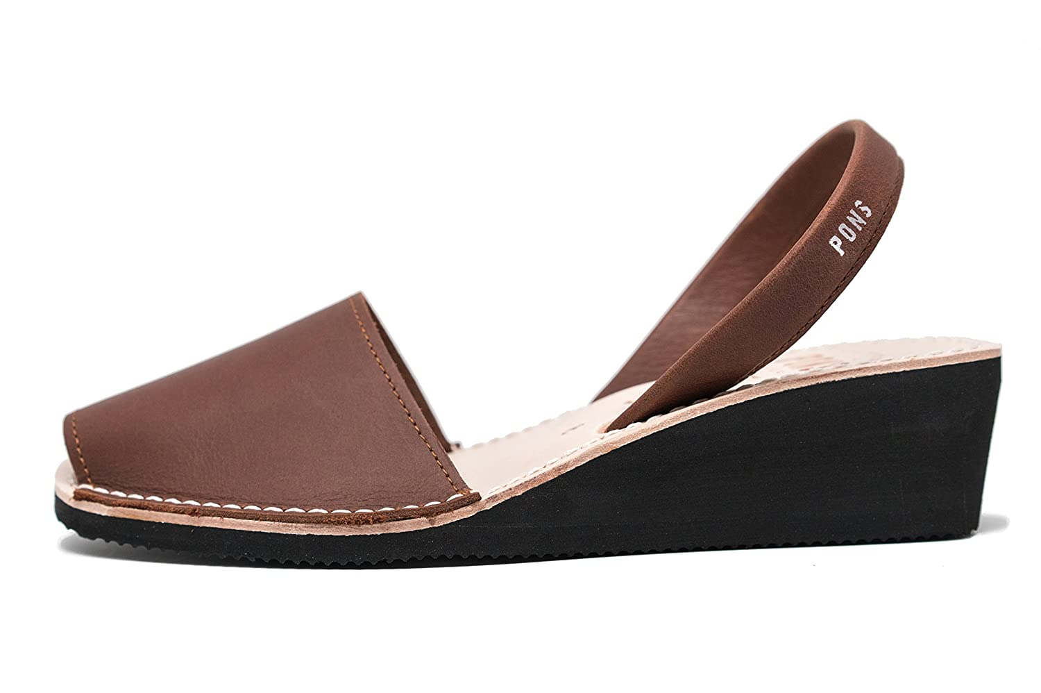 Chocolate Pons 2021 - Avarca Wedge Taupe