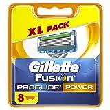 Gillette Fusion Men's ProGlide Power Razor Blades - 8 Blades