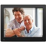 Nix Advance - 15 Zoll Digitaler Bilderrahmen für Fotos und HD-Video (720p) mit Bewegungs-Sensor, für SD und USB, Schwarz - X15D