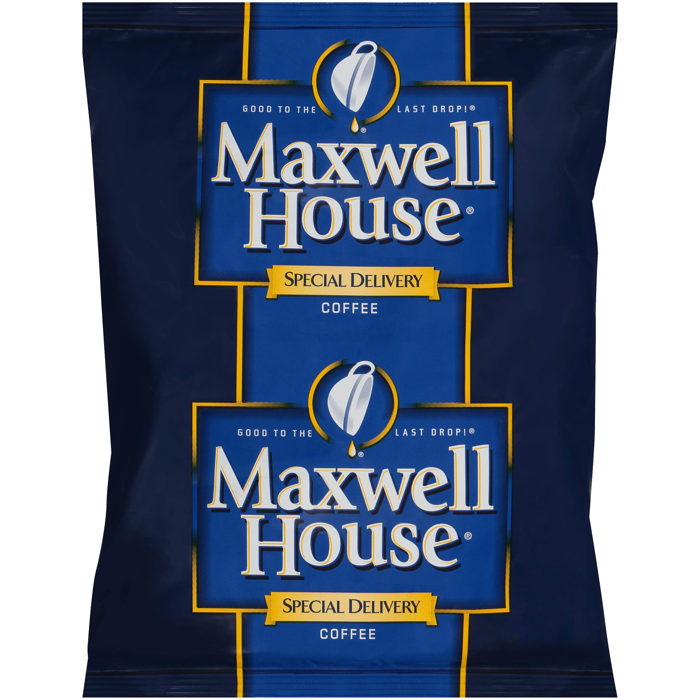 Maxwell House Special Delivery Ground Coffee Single Serve (1.2 oz Bags, Pack of 42)