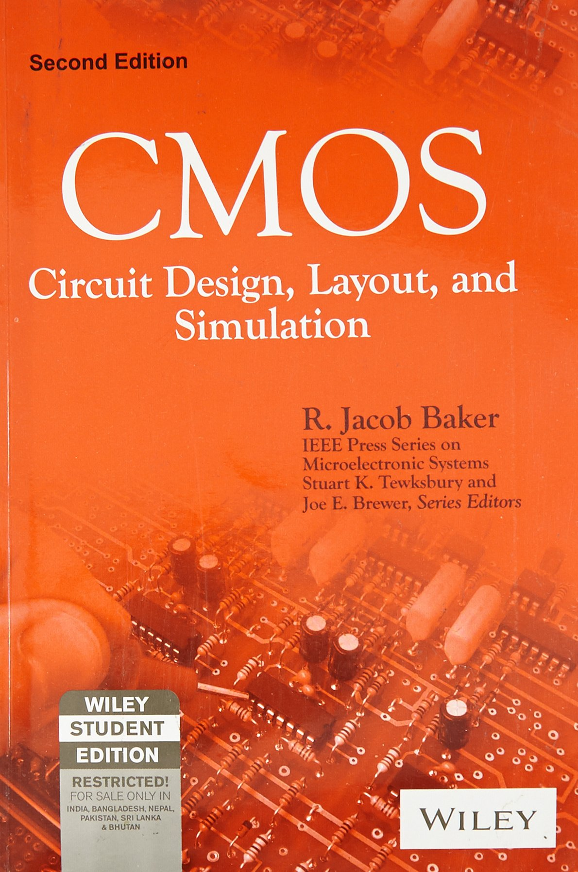 Buy Cmos Circuit Design Layout And Simulation Book Online At Low Software List Electronic Circuits Prices In India Reviews Ratings Amazon