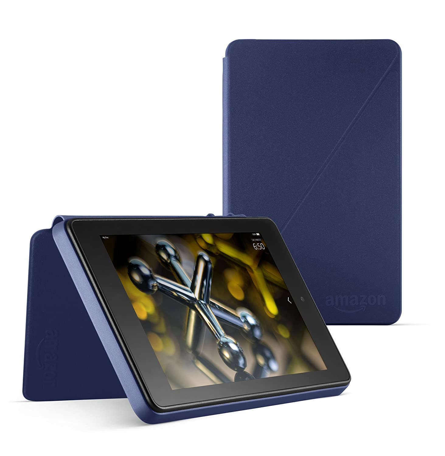 Purple Standing Protective Case for Fire HD 6 4th Generation
