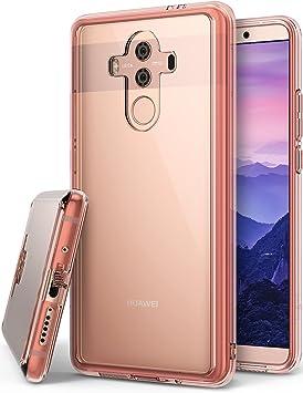 Ringke Funda Huawei Mate 10 Pro [Fusion] Transparente al Dorso del PC y Frente al TPU [Tecnologia para Proteccion a la caida] protectiva con Armadura Mejorada para Mate10 Pro: Amazon.es: Electrónica