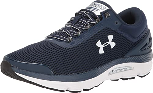 Under Armour Mens Charged Intake 4 Running Shoes Trainers Sneakers White Sports