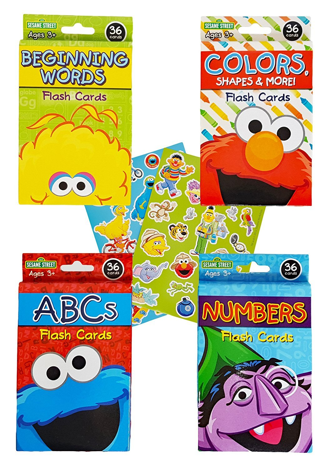 【税込?送料無料】 [セサミストリート]Sesame Cards Street Educational Flash & Cards for Early [並行輸入品] Learning. Set includes Colors, Shapes & More, ABCs, [並行輸入品] B01CYTEAI2, 素敵な:224a94b5 --- mrplusfm.net