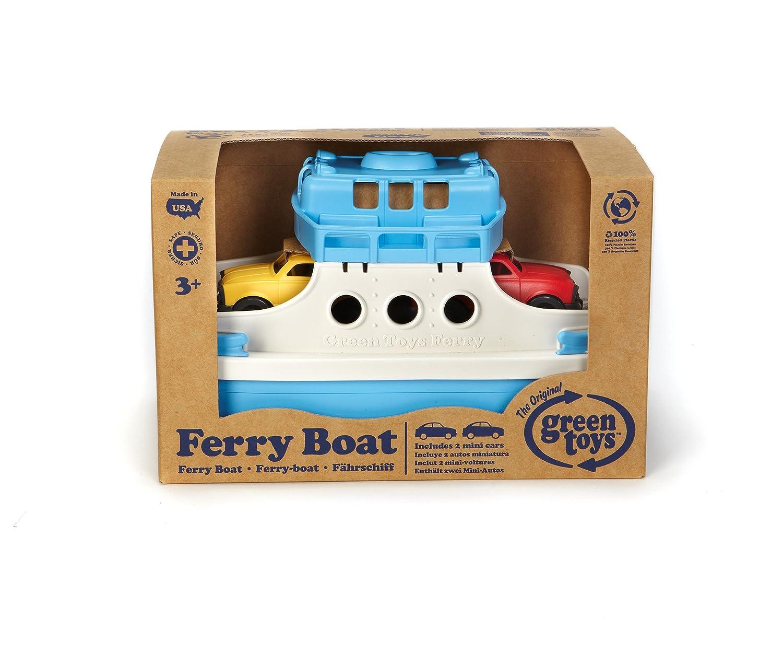 Green Toys - Ferry con mini-coches (FRBA-1038): Amazon.es: Juguetes y juegos