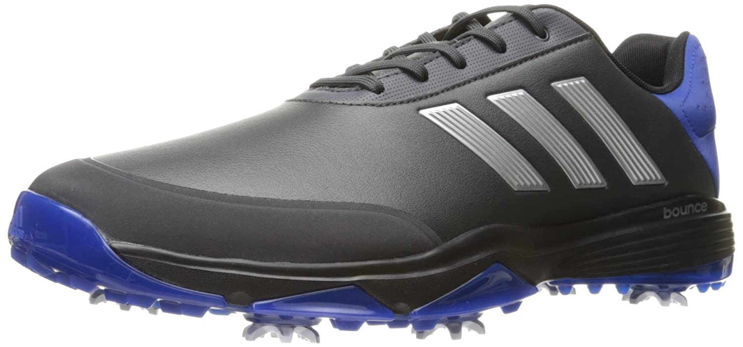 huge discount b5cf1 493b7 adidas Mens Adipower Bounce WD Carbon Golf Shoe