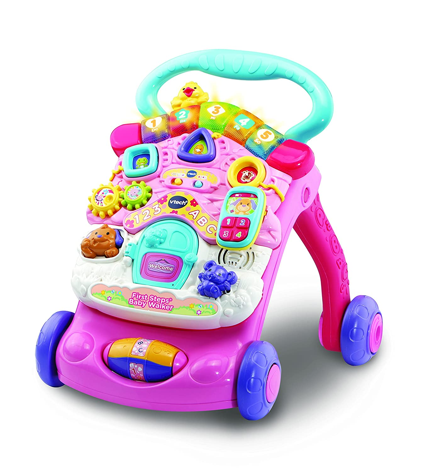 Vtech First Steps Baby Walker Pink Vtech Electronics 505653