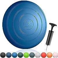 BODYMATE Balkussen COMFORT Diameter 33 cm incl. pomp - Zitbalkussen, luchtkussen, balanskussen, noppenkussen - Voor core…