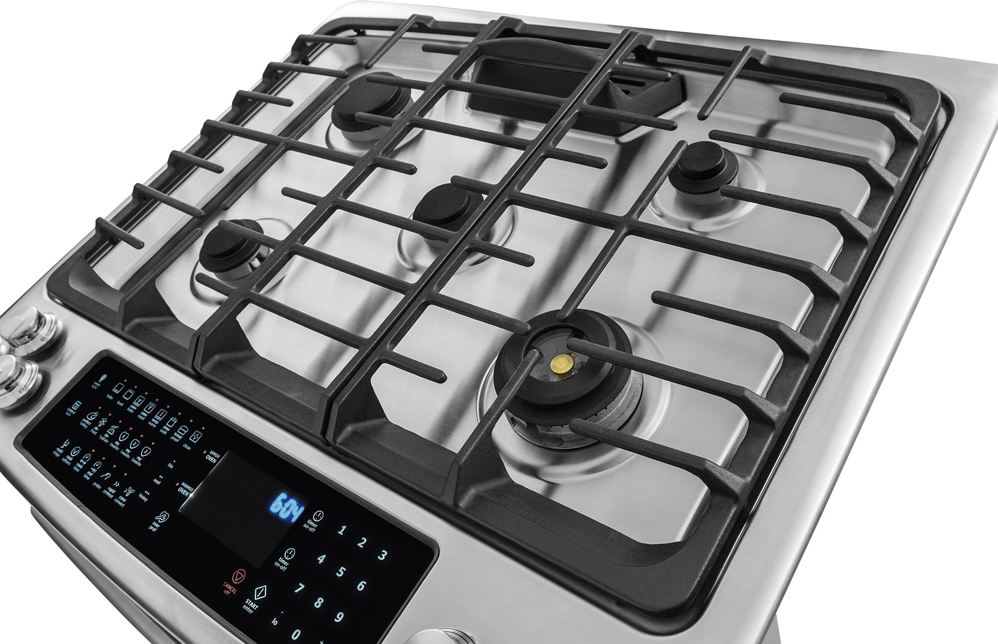 Electrolux EW30GS80RS 30'' Star K ADA Compliant Gas Slide-In Range Oven with 5 Sealed Burners 4.5 cu. ft. Oven Capacity Continuous Grates and Luxury-Glide Oven Rack in Stainless by Electrolux (Image #9)