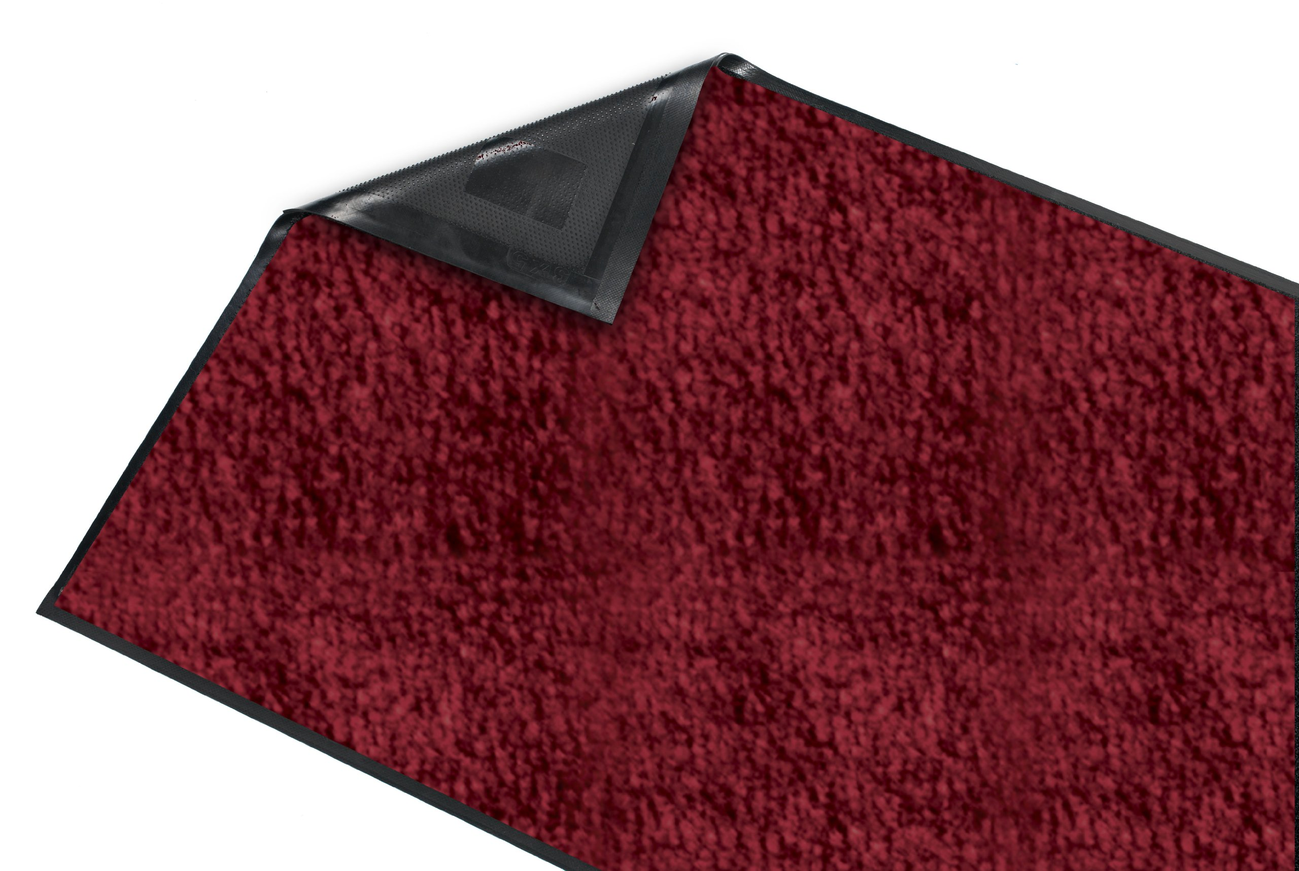 Guardian Platinum Series Indoor Wiper Floor Mat, Rubber with Nylon Carpet, 6'x8', Burgundy by Guardian (Image #4)