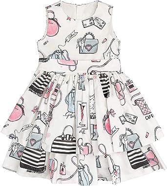 GULLIVER Vestido para Bebé Niña Casual sin Mangas Algodón de 9 Meses - 2 Años: Amazon.es: Ropa y accesorios
