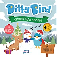 Our Best Interactive Christmas Songs Book for Babies. Musical Toddler Book. Board Books for one Year Old. Educational…