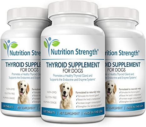 Amazon Com Nutrition Strength Thyroid Supplement For Dogs