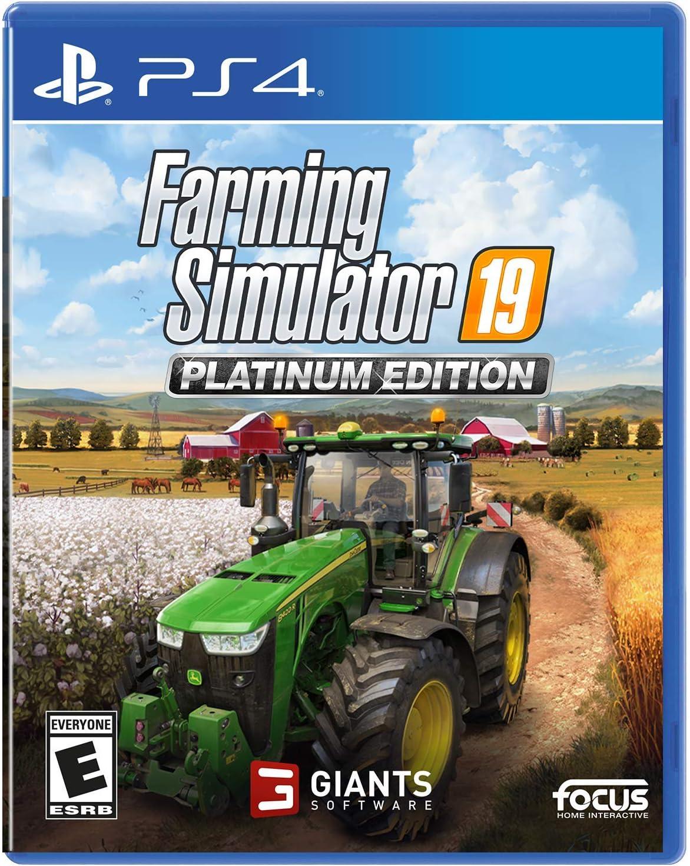 Amazoncom Farming Simulator 19 Platinum Edition Xb1