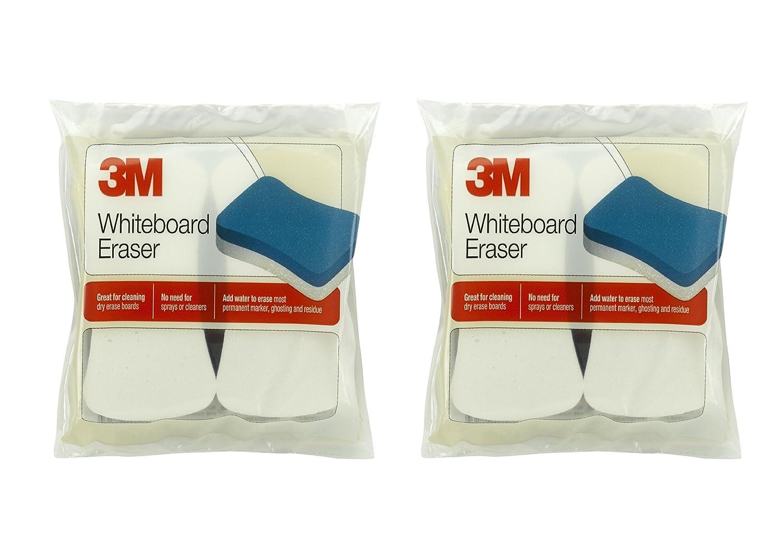 2X 3M Whiteboard Eraser for Whiteboards, 2-Pack