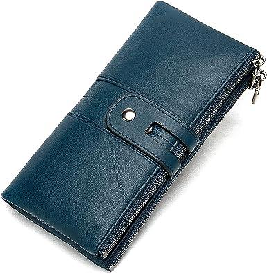 Wallet For Women Luxury Genuine Leather Clutch Wallet Card Holder Organizer Ladies Purse