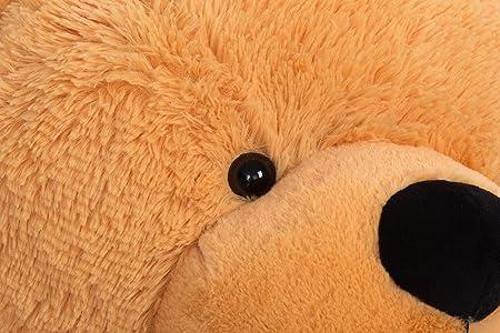 hermosa los regalos XXL 120cm marrón claro gigantes de oso - More Gentle: Amazon.es: Juguetes y juegos
