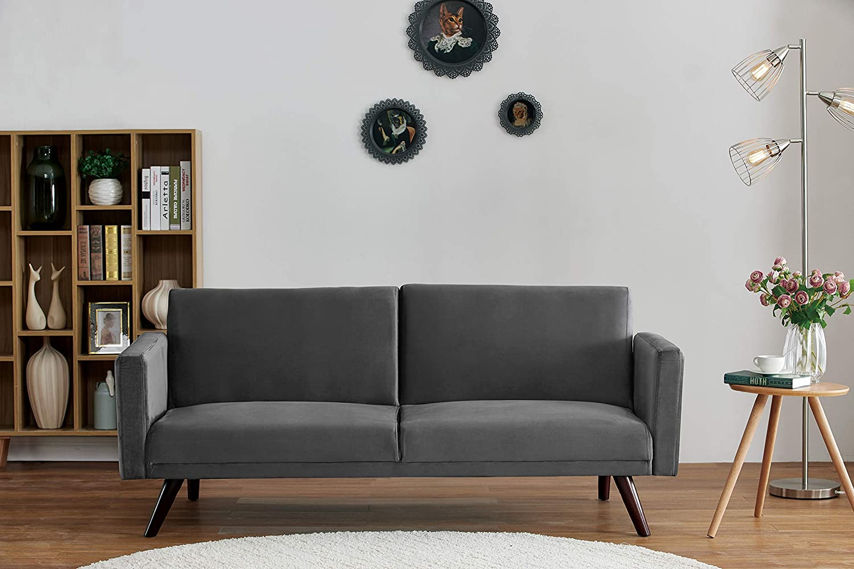 US Pride Furniture SB 9082 Sofabed, Grey