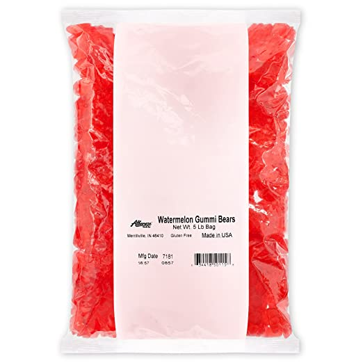 Amazon.com : Albanese Candy White Strawberry-Banana Gummi ...