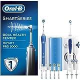 ORAL-B PRO 5000/Oxyjet - Centro dental con cepillo de dientes recargable e irrigador bucal