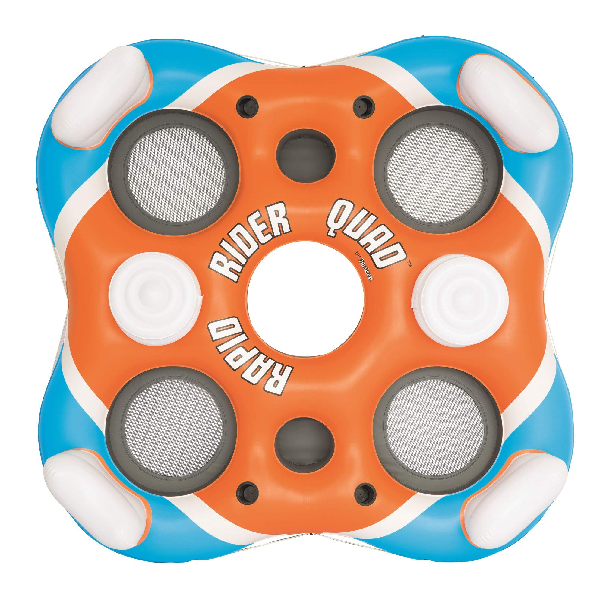 CoolerZ Rapid Rider X4 Inflatable 4-Person Island Tube by Bestway (Image #2)
