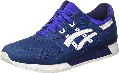 bruja Admisión Memorizar  Amazon.com: Zapatillas ASICS - Gel-Lyte III Azul/Blanco Talla: 40: Shoes