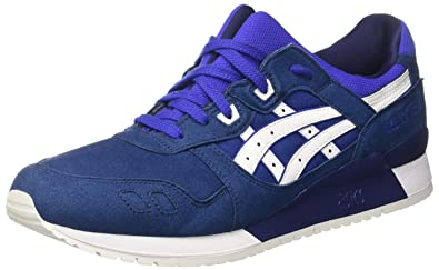 huge discount 4dff1 d55fa Asics Gel-Lyte III, Sneakers Basses Homme, Bleu Blue White, 46