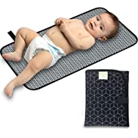 Portable Diaper Changing Pad - Waterproof Foldable Baby Changing Mat - Travel Diaper Change Mat - Lightweight Changing…