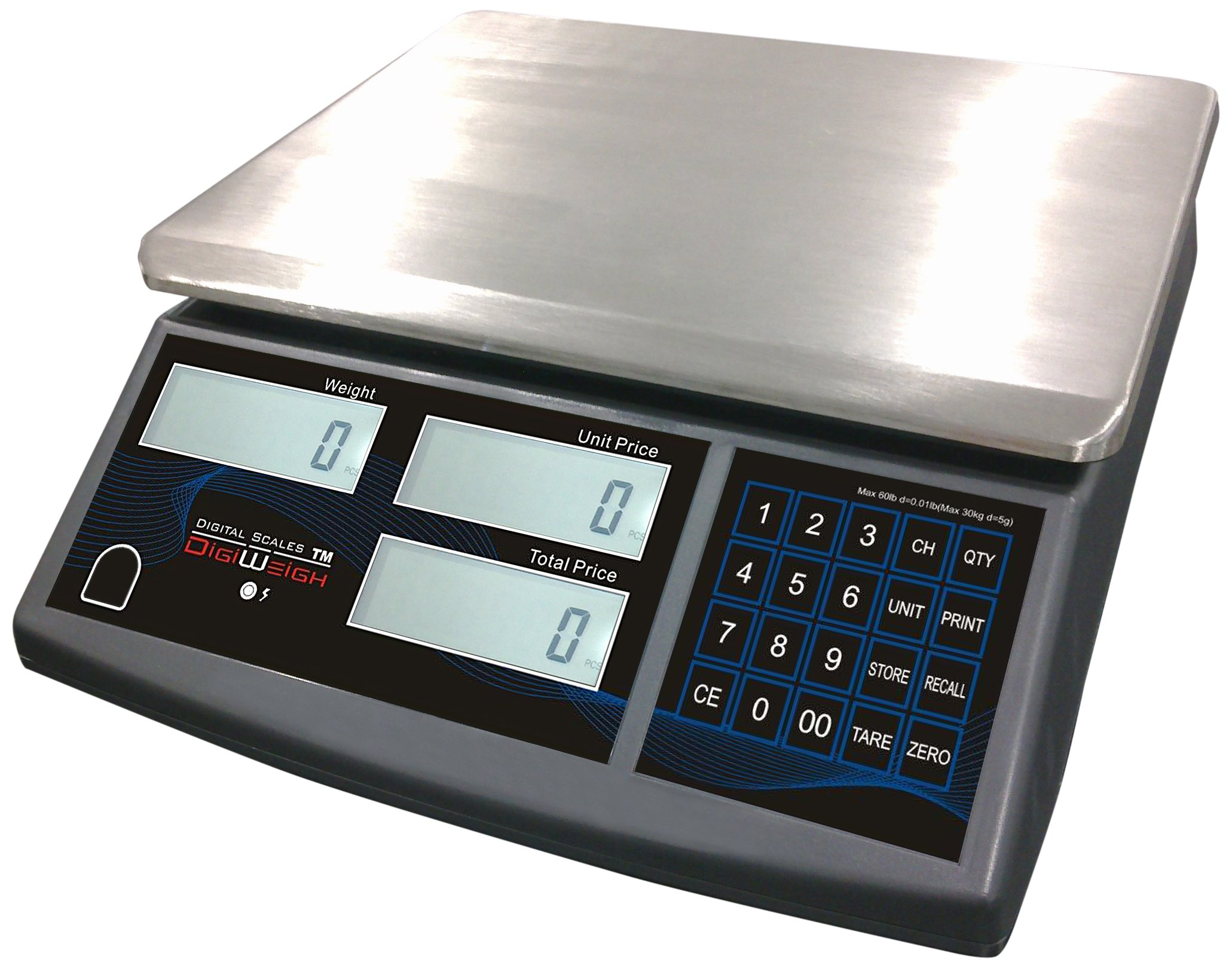 Digiweigh High Precise Price Computing Scale (DWP-30PC) by DigiWeigh