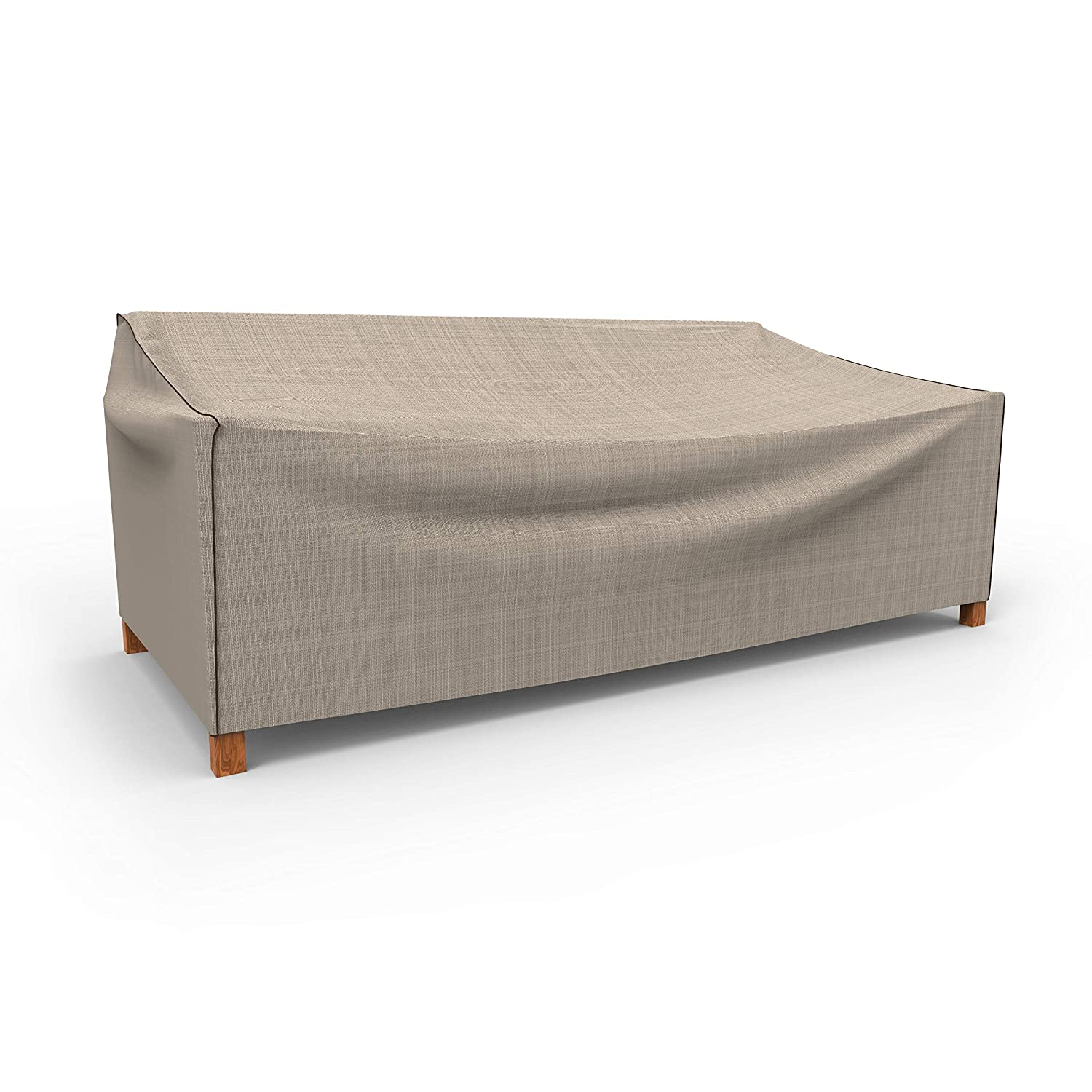 EmpirePatio Tan Tweed Outdoor Patio Sofa Cover, Large