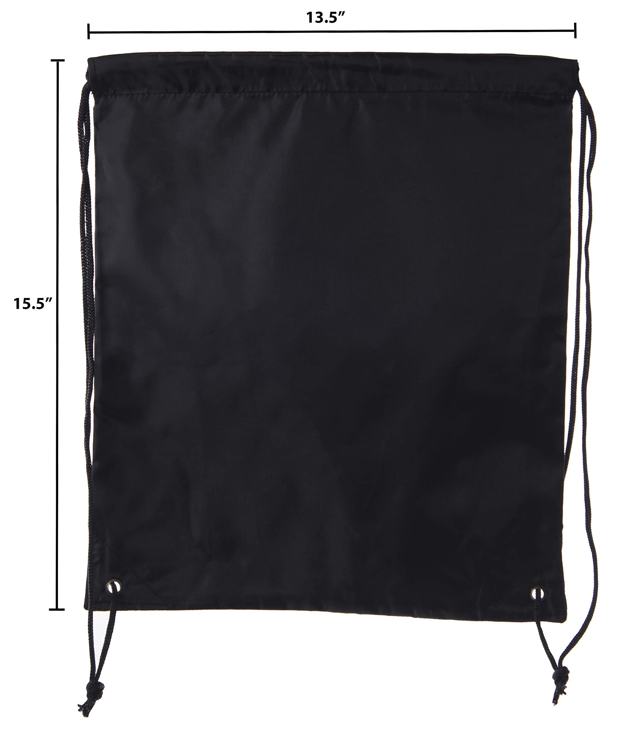Mato & Hash Drawstring Bulk Bags Cinch Sacks Backpack Pull String Bags   15 Colors   1PK-100PK Available by Mato & Hash (Image #3)