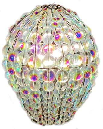 Choice of Colours Crystal Chandelier Inspired Glass Bead